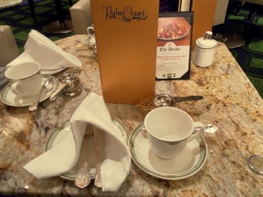 Drake Hotel Tea Room Menu