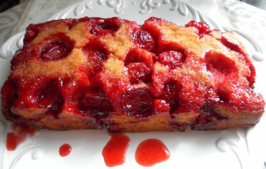 Strawberry Upside Down Cake Drink Recipe