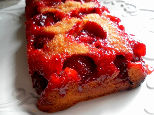 cardamom upside down cake strawberry upside down cake yummy chunklet ...