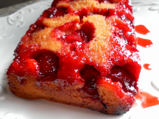 ... with us 3 pear cardamom upside down cake strawberry upside down cake