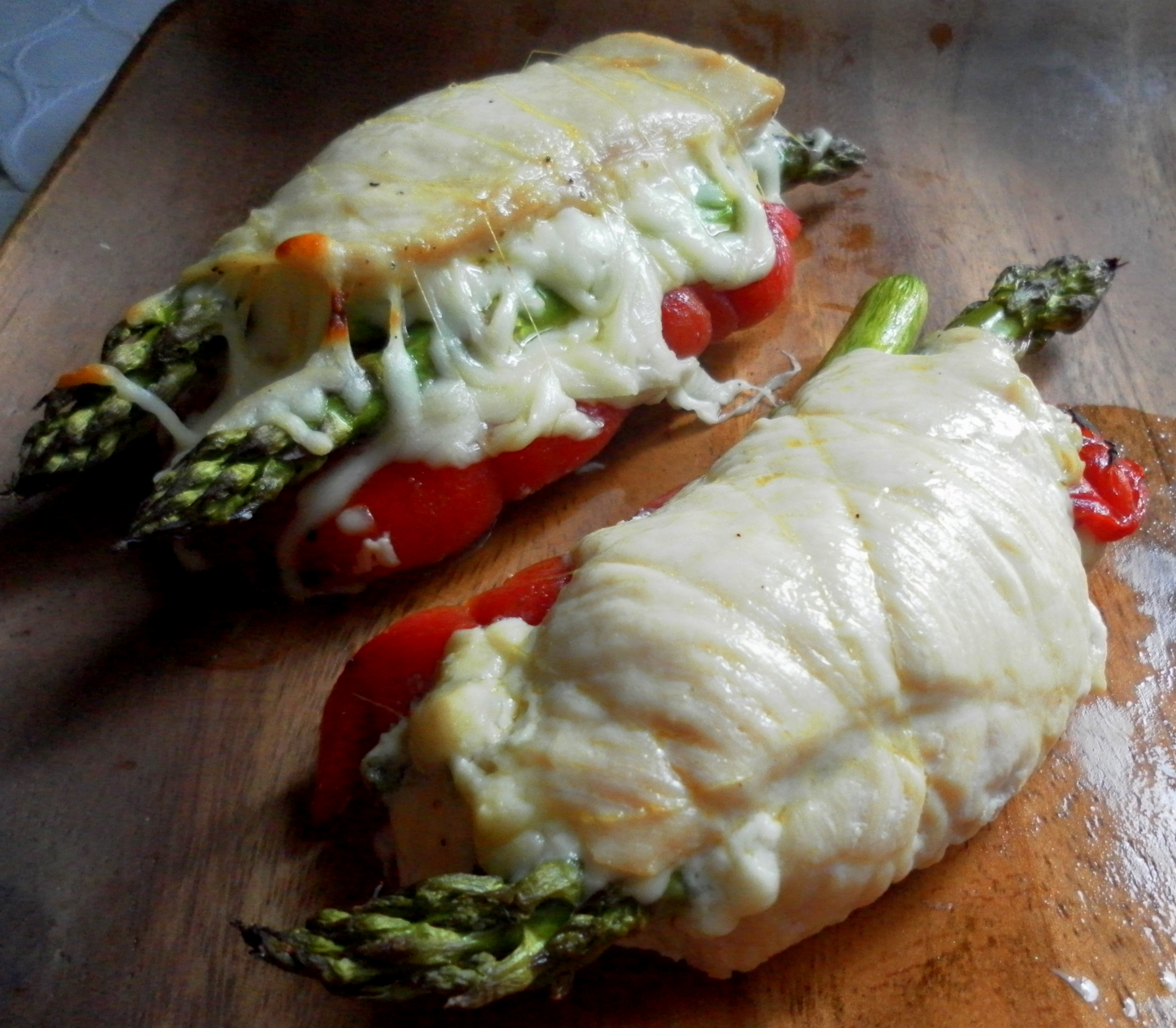 Baked Stuffed Chicken Breasts
