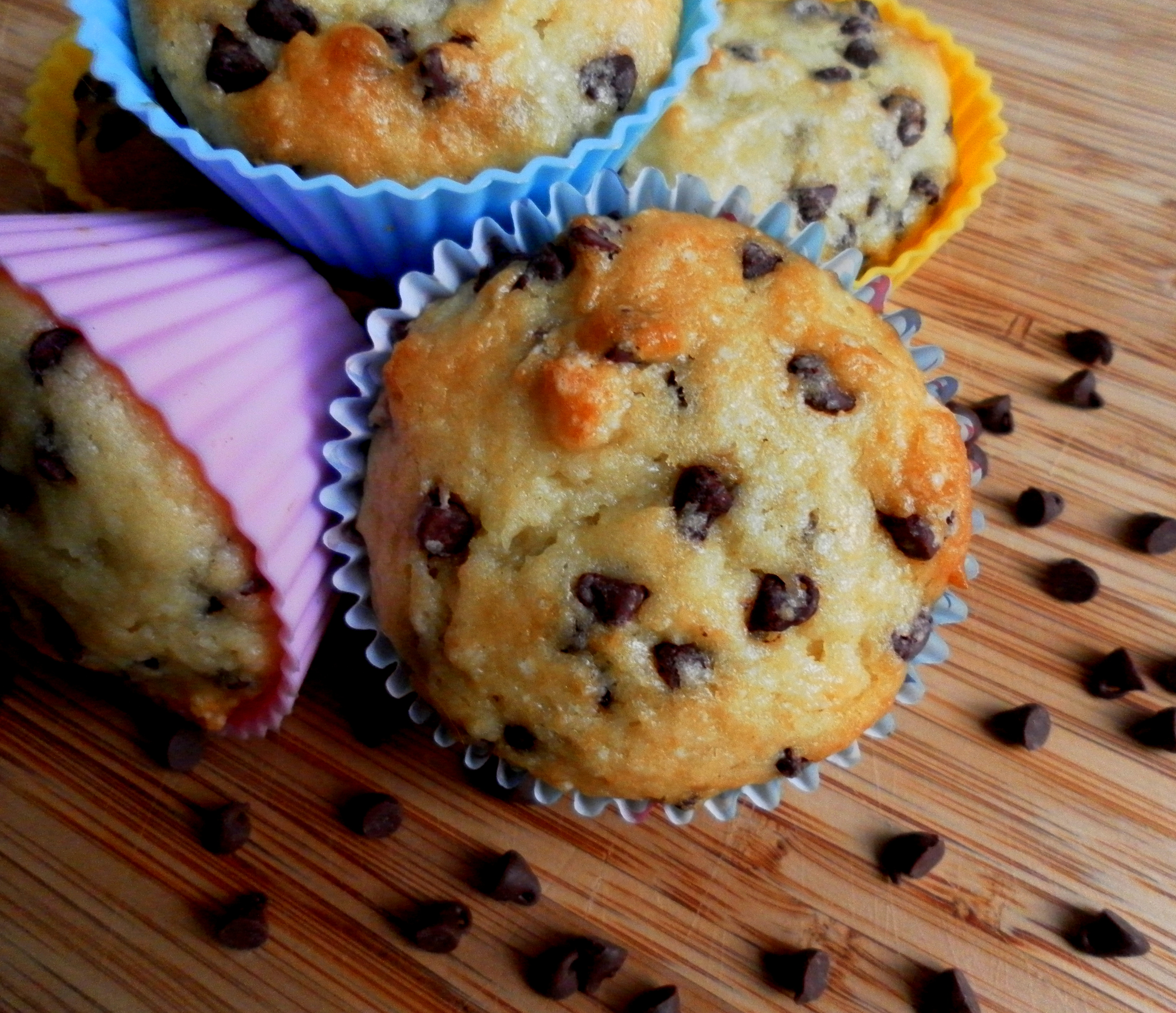 Chocolate Chip Muffins   Yummy Chunklet