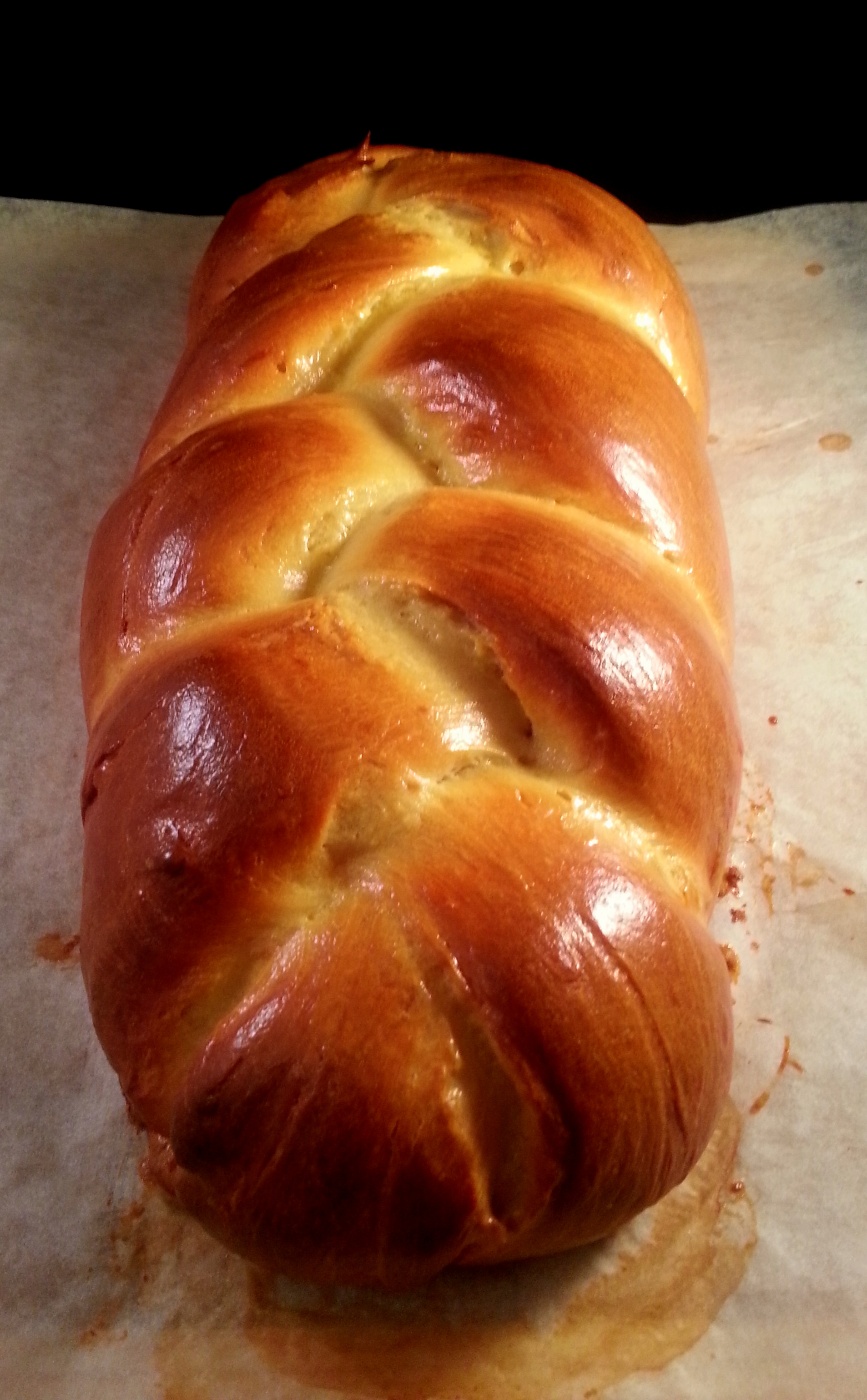 ... challah challah the way i had done for years and years the challah is